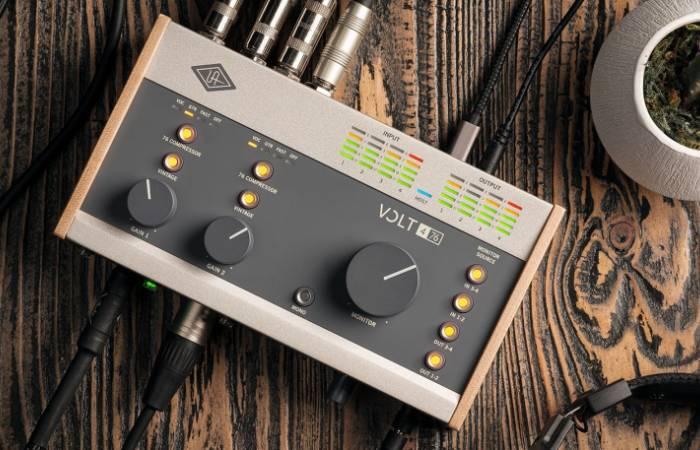 Этот звук. Здесь и сейчас. Universal Audio Volt - новая линейка аудиоинтерфейсов.
