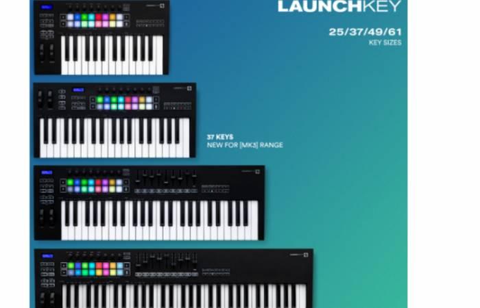 Новое поколение MIDI-клавиатур Novation Launchkey MK3!
