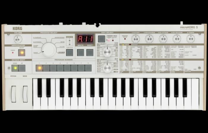 Обновлённая версия классического синтезатора вокодера Korg microKorg S - в наличии!