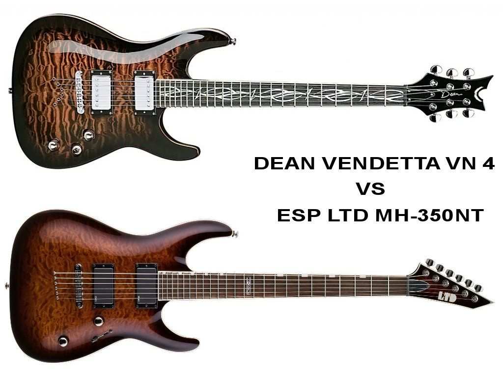 ESP LTD MH-350NT vs DEAN VENDETTA VN 4