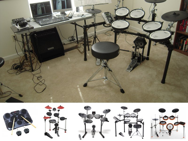 Обзор MEDELI DD305, MEDELI DD501, Alesis DM6 USB kit, Roland TD9K2, 2box DrumIt Five Mk2.