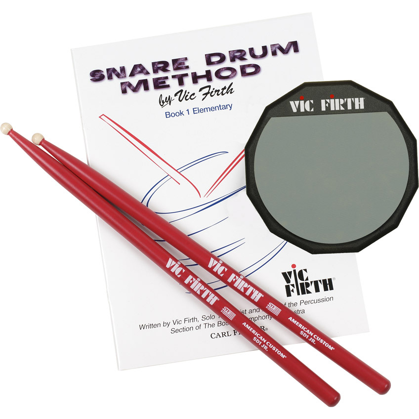 Vic Firth LPAD Launch Pad Kit (includes practice pad, SD1JR, method book) Ударные инструменты