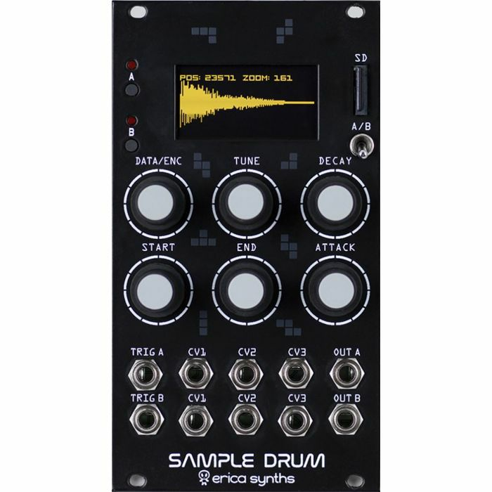 Erica Synths Sample Drum Eurorack модули