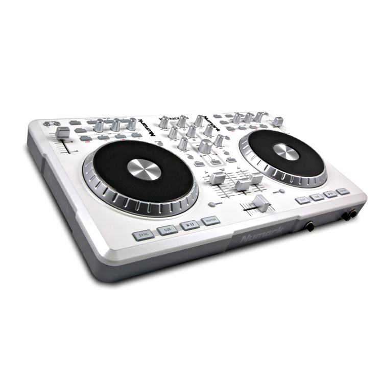 Numark MixTrack Pro White Limited Edition DJ Контроллеры