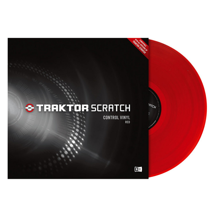 Native Instruments Traktor Scratch Timecode LP DJ Интерфейсы