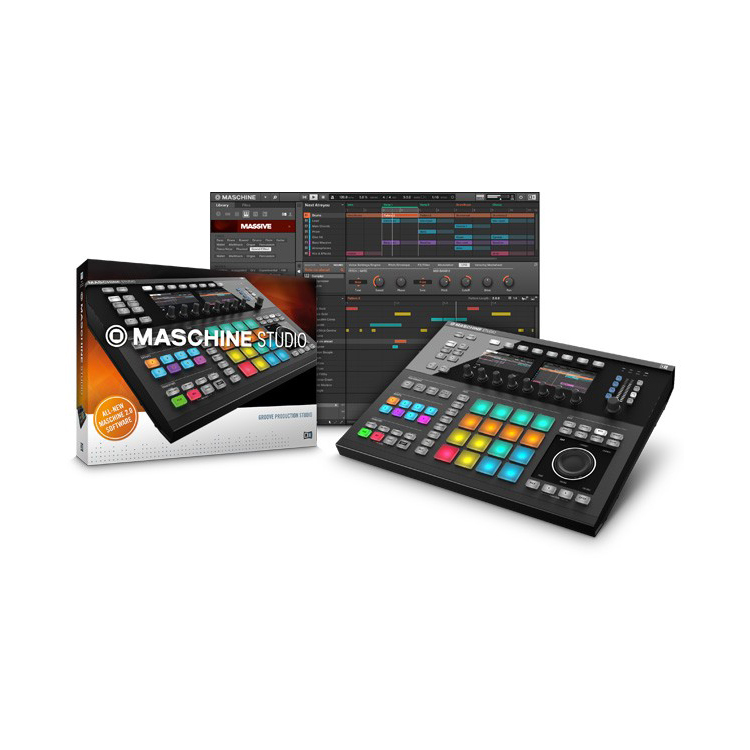 Native Instruments Maschine Studio BLK MIDI Контроллеры