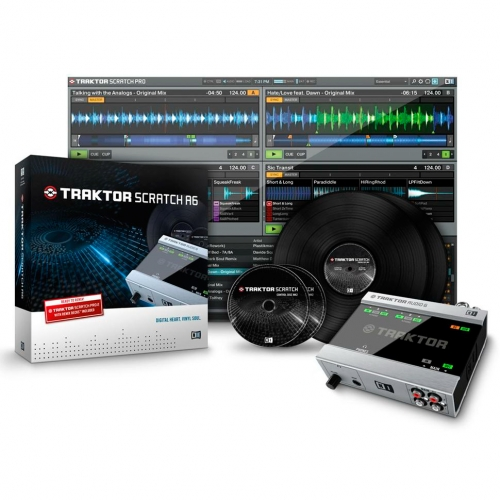 Native Instruments Traktor Scratch A6 DJ Комплекты