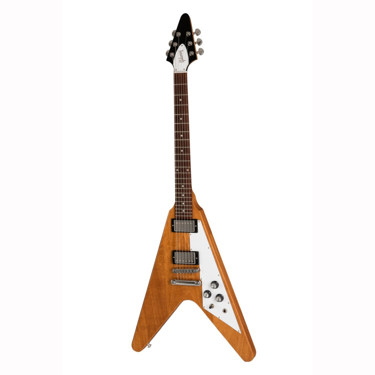 Gibson 2019 Flying V Antique Natural Электрогитары
