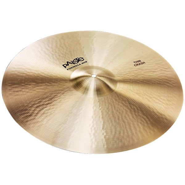 Paiste Formula 602 20 Thin Crash Ударные инструменты