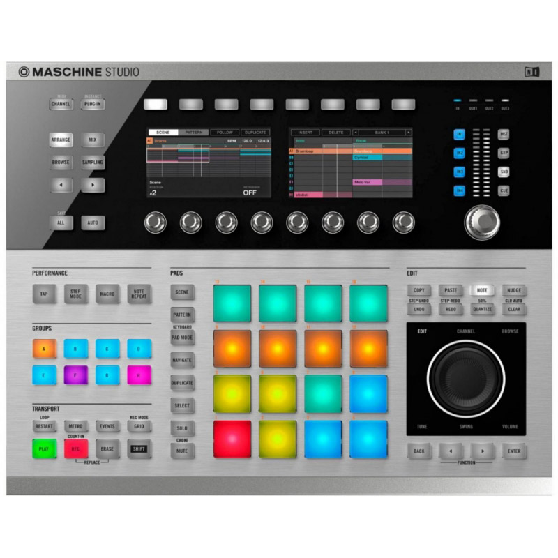 Native Instruments Maschine Studio Platinum MIDI Контроллеры