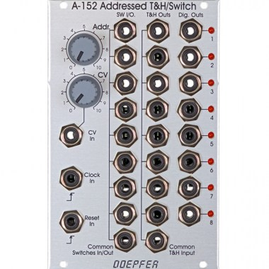 Doepfer A-152 Volt.Addr.T and H/Switch Eurorack модули