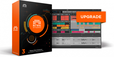 Bitwig Studio 12 Month Upgrade Plan Аудио редакторы