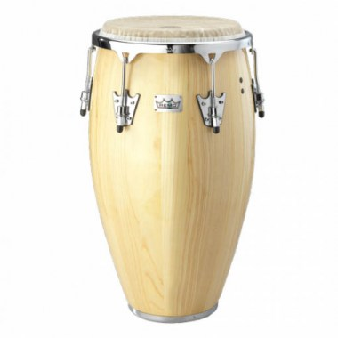 Remo CR-P017-00- CROWN PERCUSSION®, Conga, 11.75` X 28`, FIBERSKYN® Drumhead, Natural Wood Ударные инструменты
