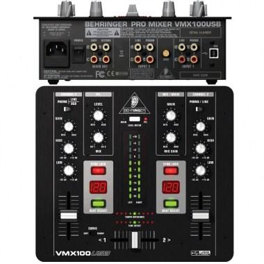 BEHRINGER VMX 100 USB Pro Mixer, цена, купить, заказать, доставка по россии