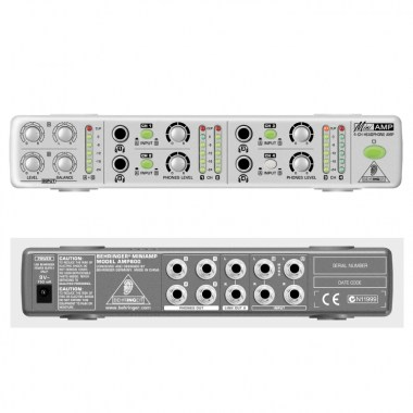 BEHRINGER MINIAMP AMP800, цена, купить, заказать, доставка по россии