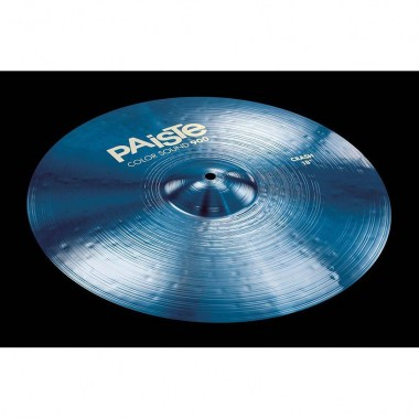 "Paiste 18"" 900 Color Sound Blue Crash Ударные инструменты"