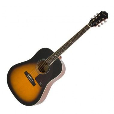 EPIPHONE AJ-220S Solid Top Acoustic Vintage Sunburst, цена, купить, заказать, доставка по россии