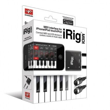 IK Multimedia iRig MIDI, цена, купить, заказать, доставка по россии