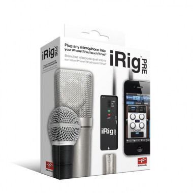 IK Multimedia iRig PRE, цена, купить, заказать, доставка по россии