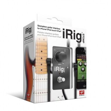 IK Multimedia iRig STOMP, цена, купить, заказать, доставка по россии