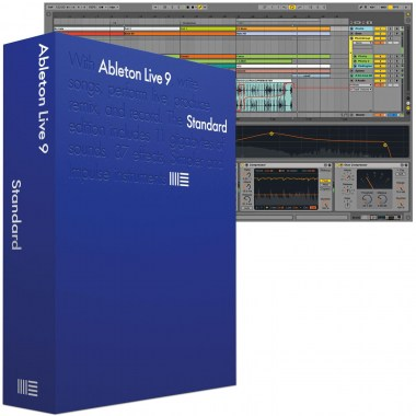Ableton Live 9 Standard UPG from Live Intro Аудио редакторы