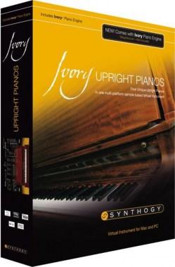 Synthogy Ivory Upright Pianos, цена, купить, заказать, доставка по россии
