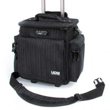 UDG SlingBag Trolley Deluxe MK II Black/Grey Stripes DJ Кейсы, сумки, чехлы