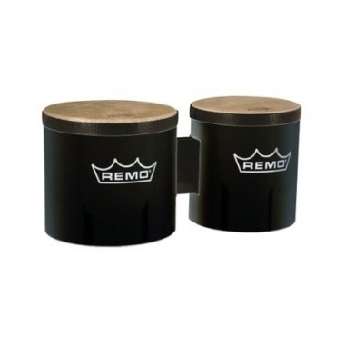 Remo BG-5300-70 6`+7` PreTuned Bongo Set - Black Ударные инструменты