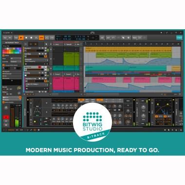 Bitwig Studio 8-Track  Аудио редакторы