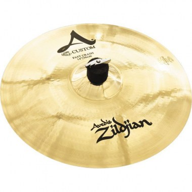Zildjian 14` A` Custom FAST Crash Brilliant Ударные инструменты