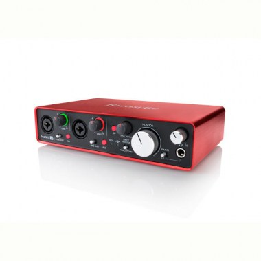 FOCUSRITE Scarlett 2i4 2nd Gen USB Звуковые карты USB