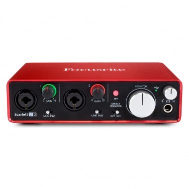 FOCUSRITE Scarlett 2i2 2nd Gen USB Звуковые карты USB
