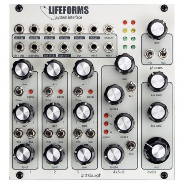 Pittsburgh Modular Lifeforms System Interface Звуковые модули