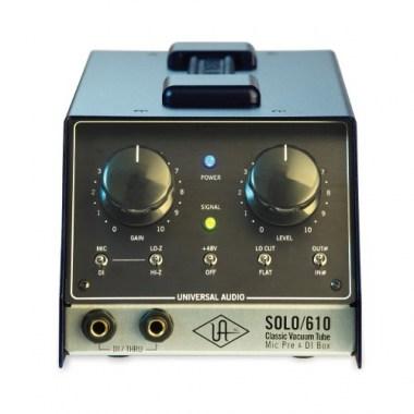 Universal Audio SOLO / 610 Classic Tube Preamplifier & DI Box, цена, купить, заказать, доставка по россии