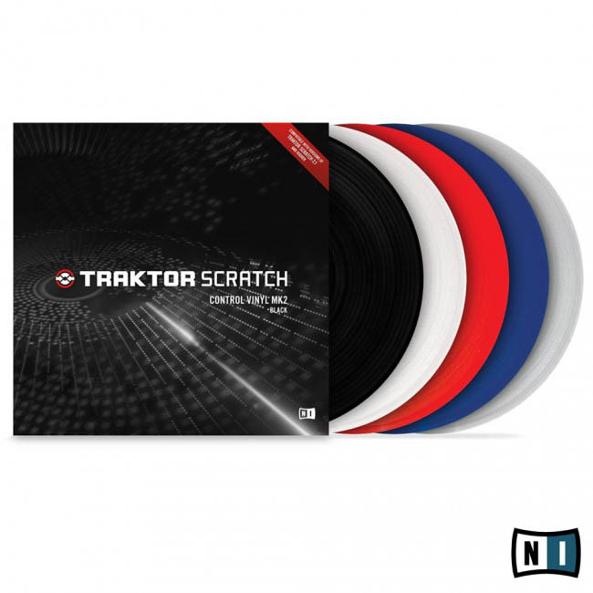 Native Instruments Traktor Scratch Pro Control Vinyl Clear Mk2 DJ Аксессуары