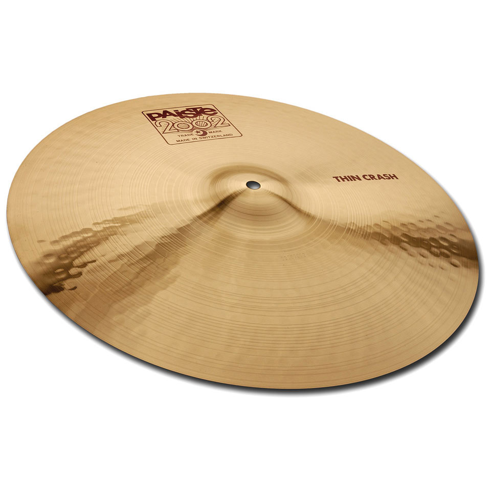 Paiste 2002 16 Thin Crash Ударные инструменты