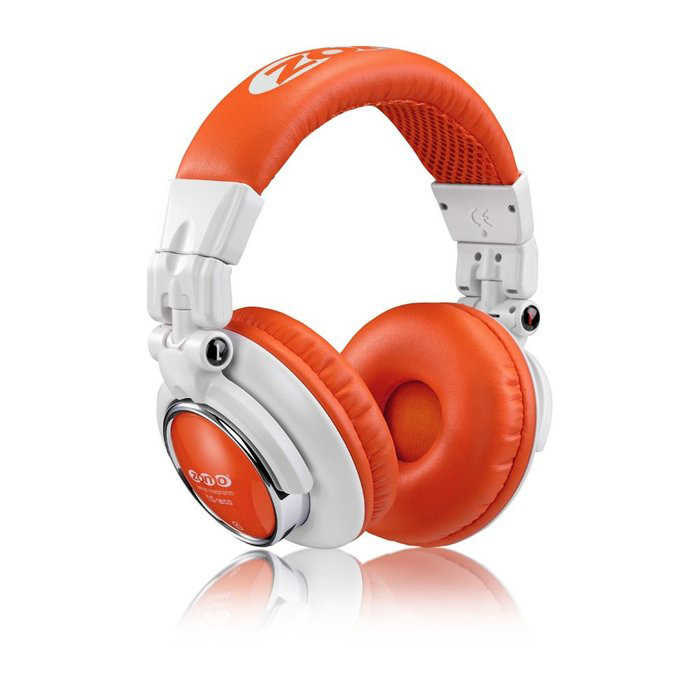 Zomo Headphone HD-1200 White/Orange DJ Наушники