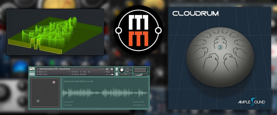 Бесплатные плагины: Ample Sound Cloudrum, Grainstrument LITE и пэтчи для Xfer Serum